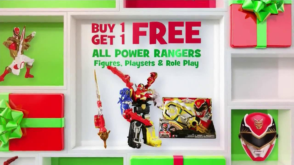 Watch video· Toys R Us 2 Day Sale TV Spot, 'Buy 1 Get 1' Submissions should come only from the actors themselves, their parent/legal guardian or casting agency. Please include at least one social/website link containing a recent photo of the actor.