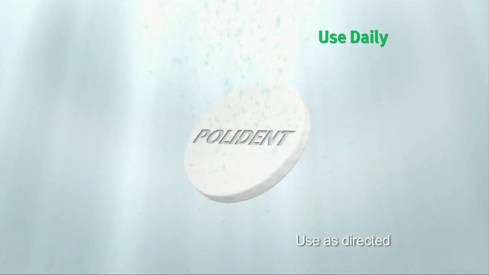 Polident TV Spot, 'Toothpaste' - Screenshot 6