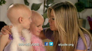 St. Jude Children's Research Hospital TV Spot Featuring Jennifer Aniston