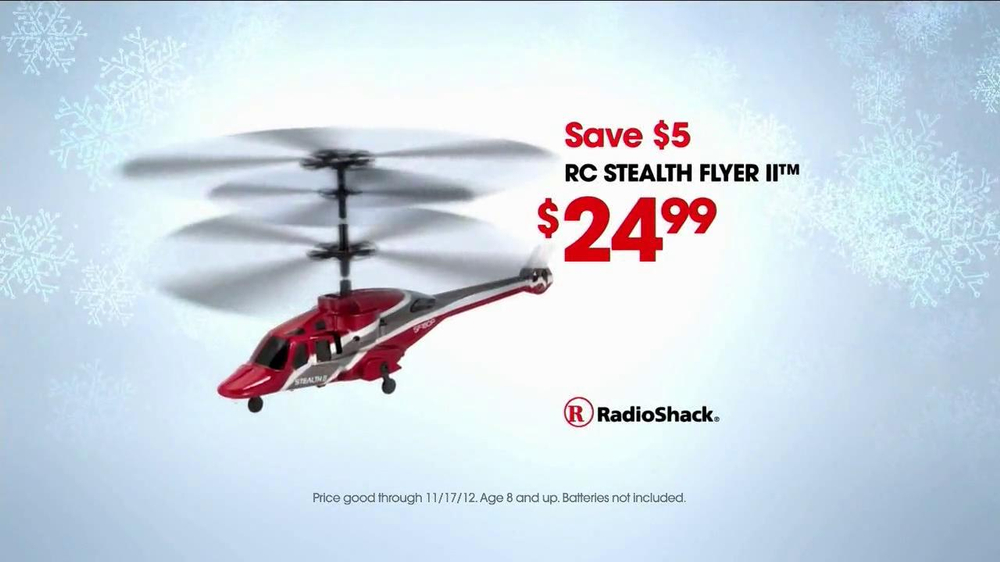 Radio Shack Toys For Boys : Rc toys at radio shack tv commercial helicopter ispot