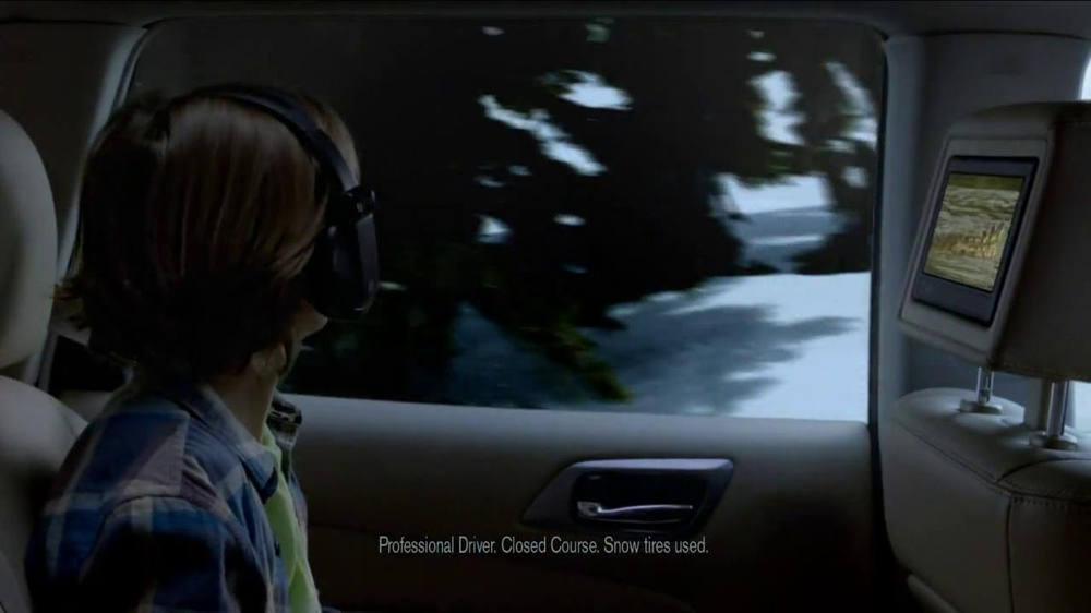 2013 Nissan Pathfinder TV Spot, 'Follow Me' - Screenshot 5