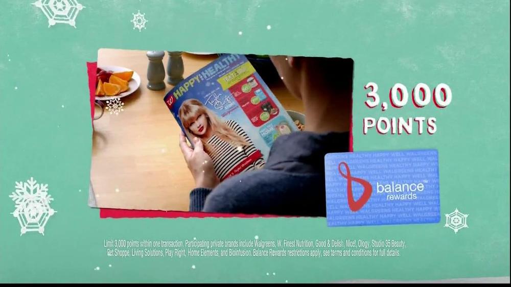 Walgreens Happy and Healthy Magazine TV Spot, 'Taylor Swift' - Screenshot 10