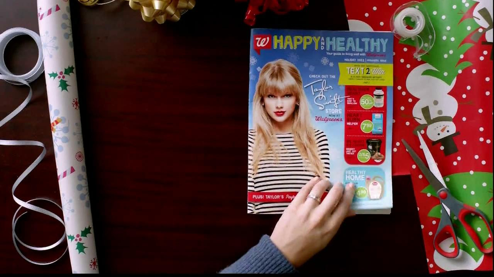 Walgreens Happy and Healthy Magazine TV Spot, 'Taylor Swift' - Screenshot 2