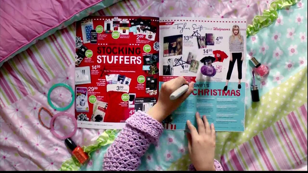 Walgreens Happy and Healthy Magazine TV Spot, 'Taylor Swift' - Screenshot 8