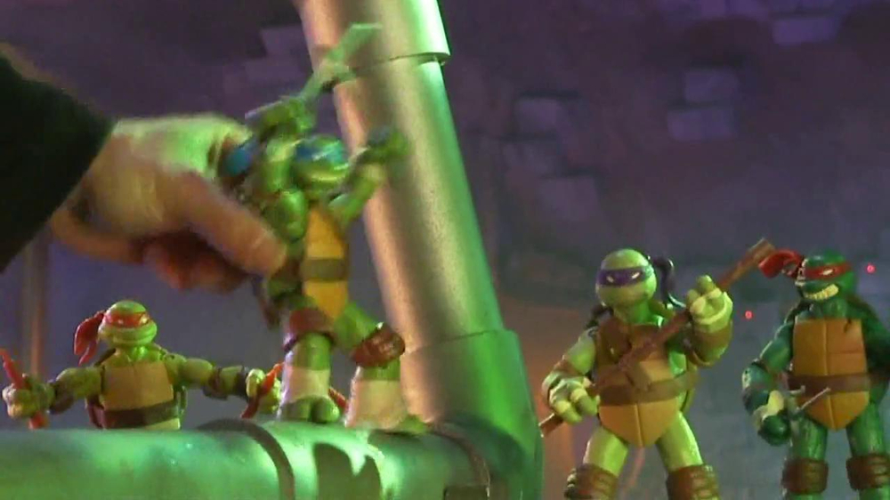 Teenage Mutant Ninja Turtles Action Figures Tv Commercial