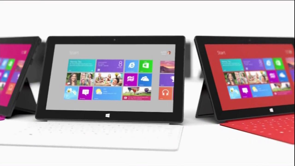Microsoft Surface TV Spot, 'All the Apps' - Screenshot 3