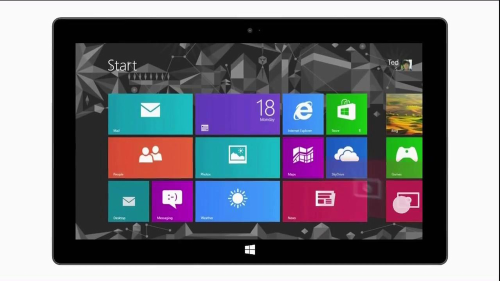 Microsoft Surface TV Spot, 'All the Apps' - Screenshot 5