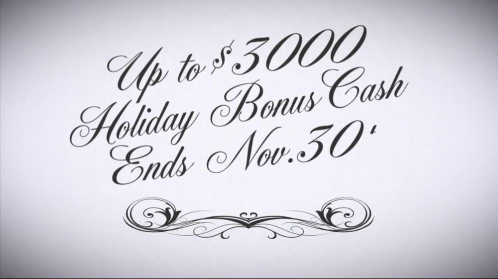 Nissan Season to Save TV Spot, 'Holiday Bonus Cash' - Screenshot 8