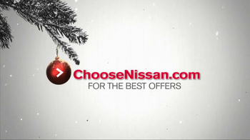 Nissan Season to Save TV Spot, 'Holiday Bonus Cash' - Thumbnail 6