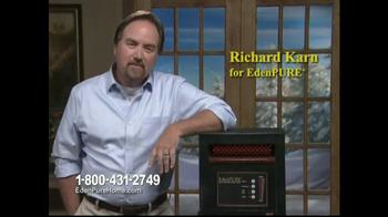 EdenPURE Personal Heater TV Spot, 'Winter' Featuring Richard Karn