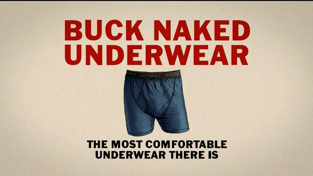 Duluth Trading TV Spot, 'Buck Naked Underwear' - Screenshot 5