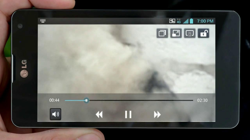 LG Optimus G TV Spot, 'Commercial Shoot' - Screenshot 7