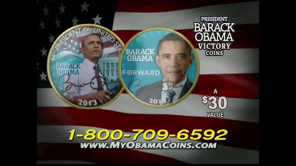 Obama Coins TV Spot  - Screenshot 6