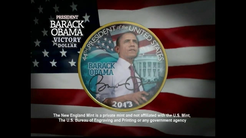 Obama Coins TV Spot  - Screenshot 1
