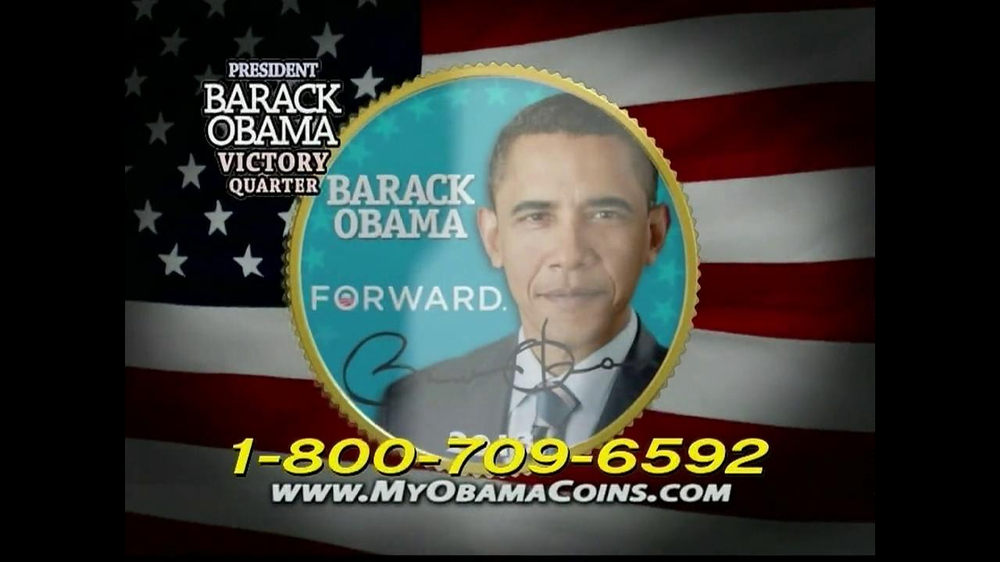 Obama Coins TV Spot  - Screenshot 2