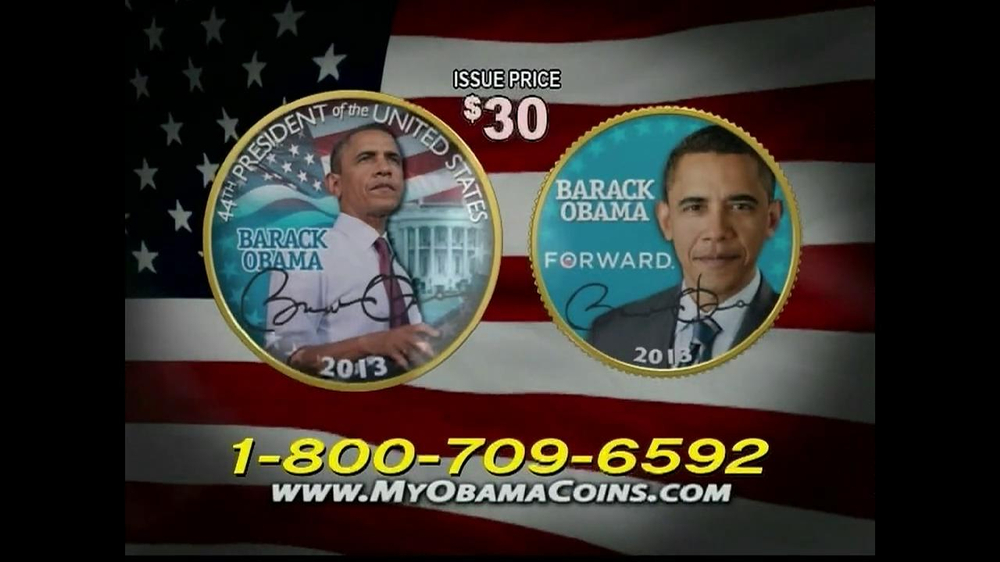 Obama Coins TV Spot  - Screenshot 3