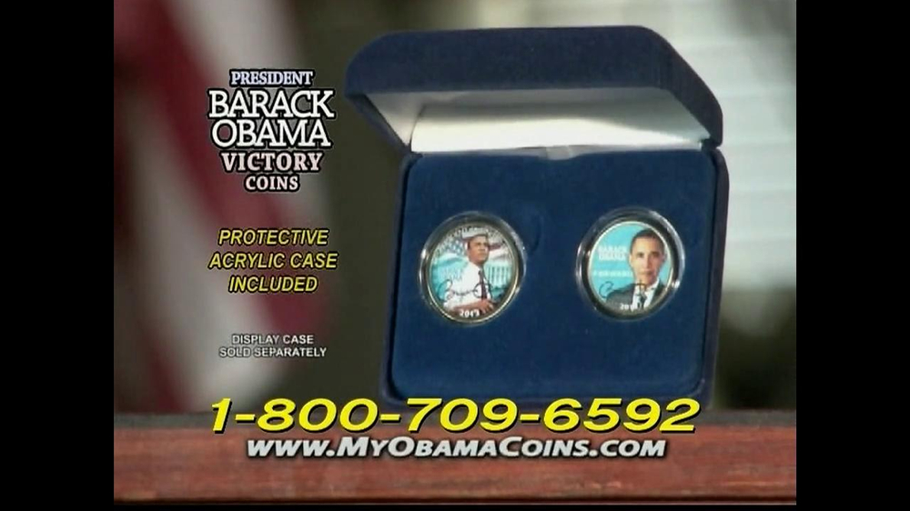Obama Coins TV Spot  - Screenshot 4