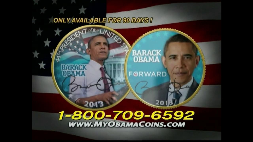 Obama Coins TV Spot  - Screenshot 5
