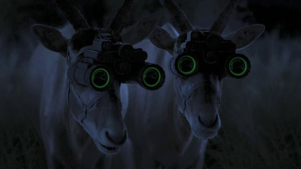 GEICO TV Spot, 'Antelope with Night Vision Goggles' - Screenshot 4
