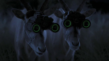 GEICO TV Spot, 'Antelope with Night Vision Goggles'