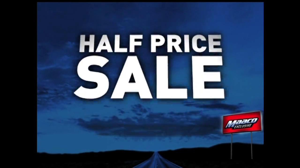 Maaco Half Price Paint Sale