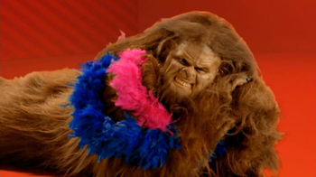 Apple to Apples TV Spot, 'Glamorous Bigfoot'