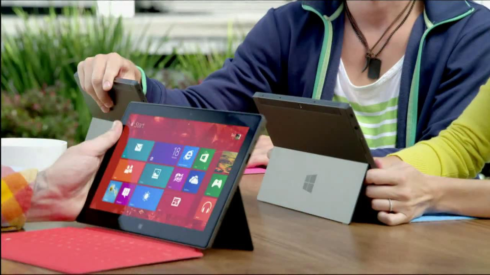 Microsoft Surface TV Spot - Screenshot 3
