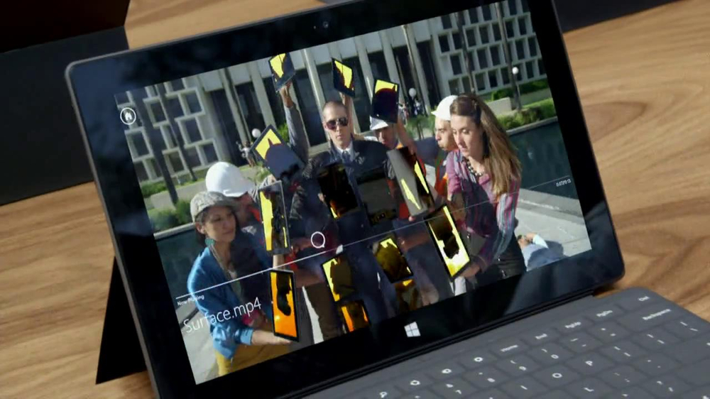Microsoft Surface TV Spot - Screenshot 7