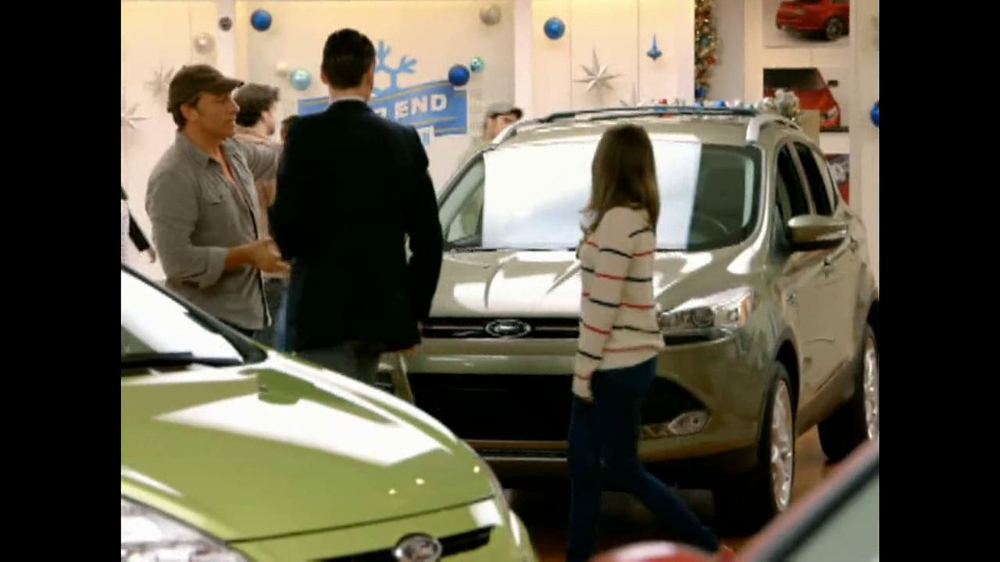 Ford Year End Celebration Tv Spot Sleek Escape