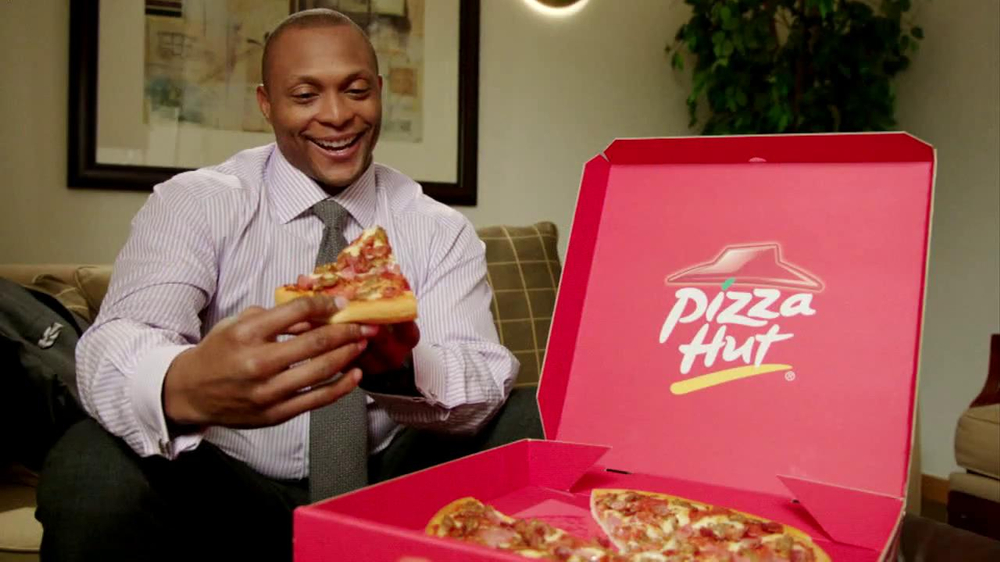 Pizza Hut TV Commercial, Featuring Eddie George - iSpot.tv