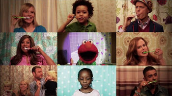 Ad Council TV Spot 'Brushy, Brush' Featuring Elmo, Nicole Kidman