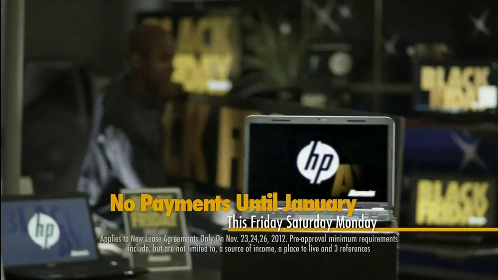 Aaron's Black Friday TV Spot, 'Dusting'  - Screenshot 5