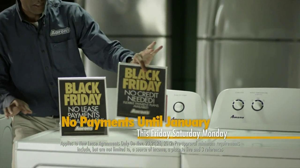 Aaron's Black Friday TV Spot, 'Dusting'  - Screenshot 6