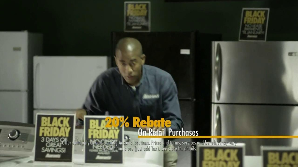 Aaron's Black Friday TV Spot, 'Dusting'  - Screenshot 9