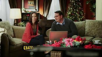 Ebates Cashback TV Spot, 'Christmas Shopping'  thumbnail