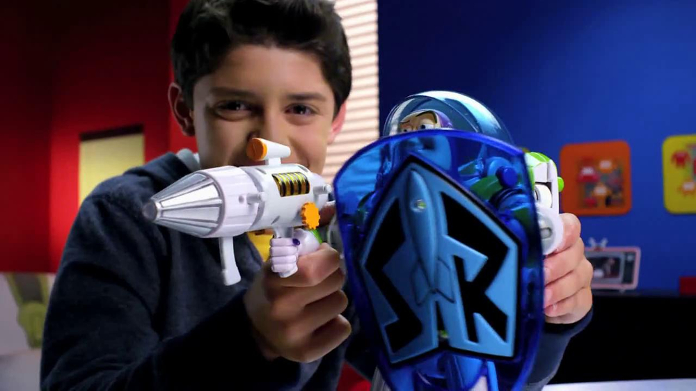Power Blaster Buzz Lightyear Talking Action Figure TV Spot - Screenshot 9