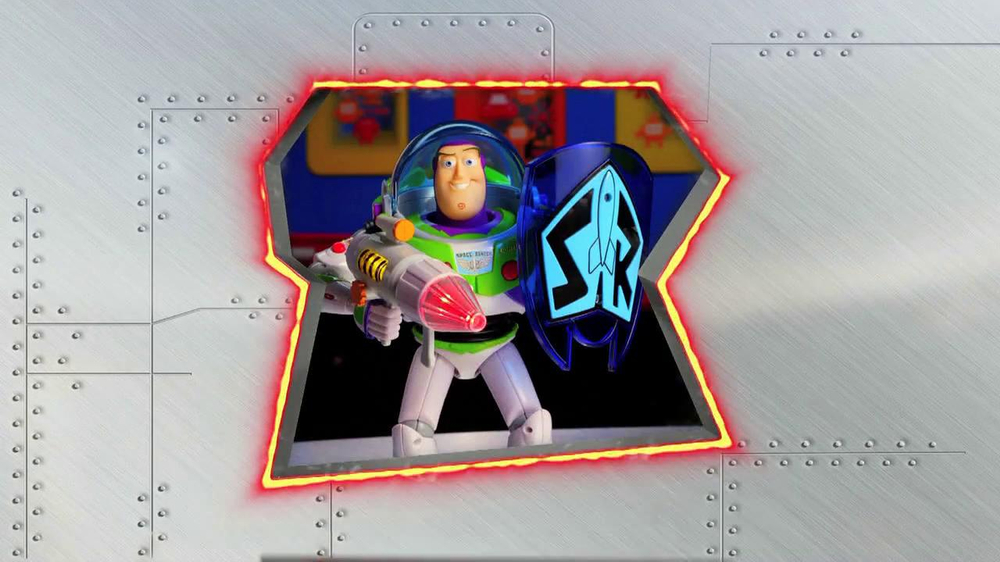 Power Blaster Buzz Lightyear Talking Action Figure TV Spot - Screenshot 2