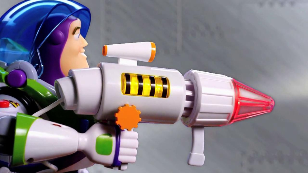 Power Blaster Buzz Lightyear Talking Action Figure TV Spot - Screenshot 4