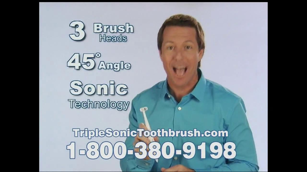 Triple Sonic Toothbrush TV Spot - Screenshot 6