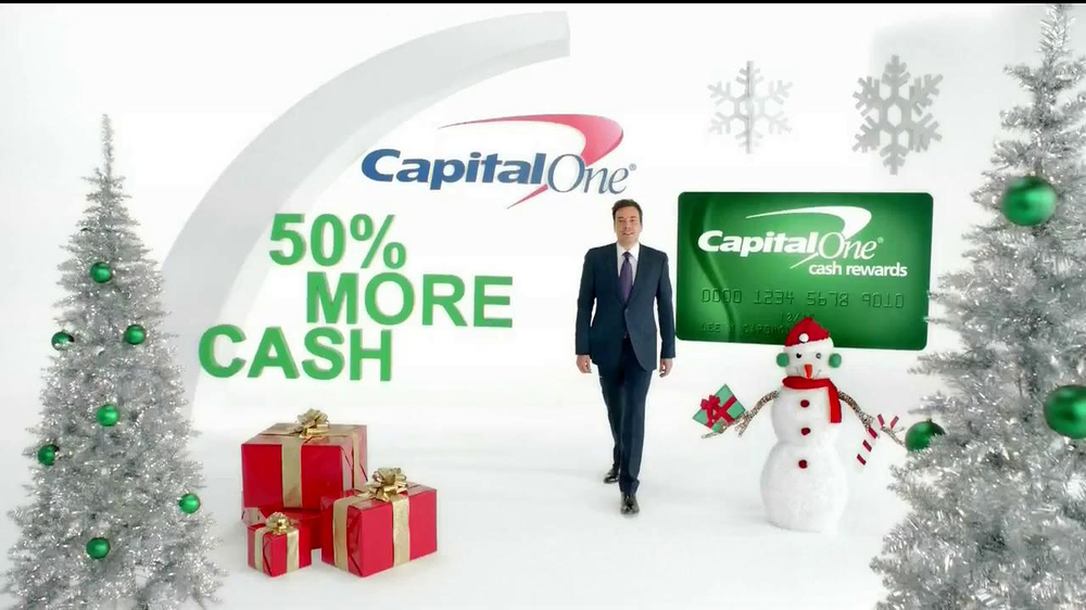 Capital One TV Spot, 'Holiday Bribes' Featuring Jimmy Fallon - Screenshot 1