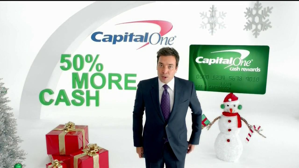 Capital One TV Spot, 'Holiday Bribes' Featuring Jimmy Fallon - Screenshot 2