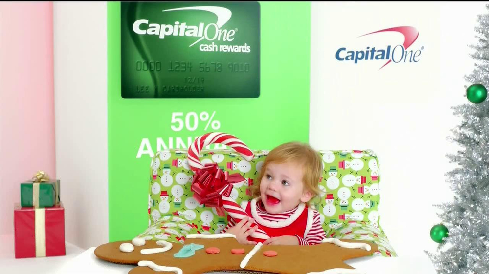 Capital One TV Spot, 'Holiday Bribes' Featuring Jimmy Fallon - Screenshot 3