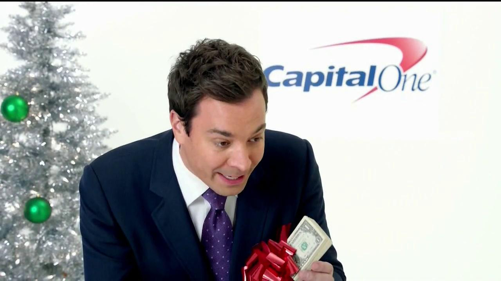 Capital One TV Spot, 'Holiday Bribes' Featuring Jimmy Fallon - Screenshot 4