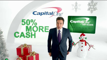 Capital One TV Spot, 'Holiday Bribes' Featuring Jimmy Fallon - Thumbnail 2