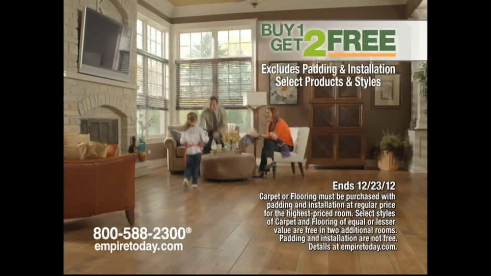Empire Today Buy 1, Get 2 Free Sale TV Spot  - Screenshot 9