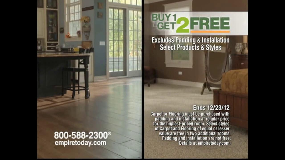 Empire Today Buy 1, Get 2 Free Sale TV Spot  - Screenshot 6