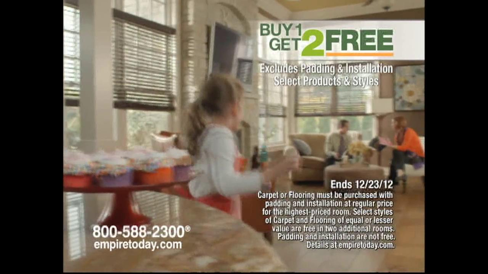 Empire Today Buy 1, Get 2 Free Sale TV Spot  - Screenshot 8