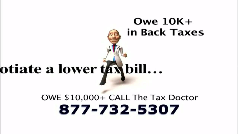 The Tax Doctor TV Spot, 'Audit' - Screenshot 3