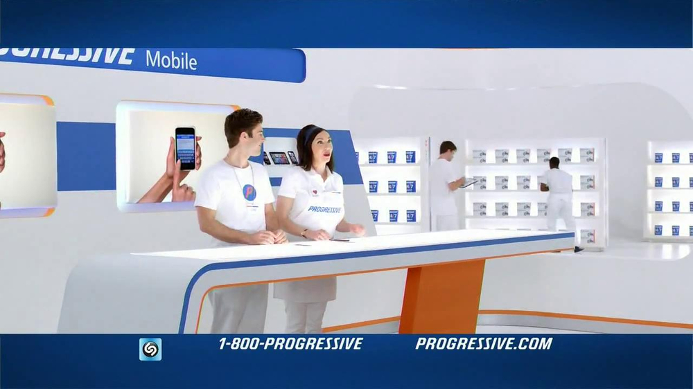 Progressive Mobile TV Spot, Song Wang Chung - Screenshot 2