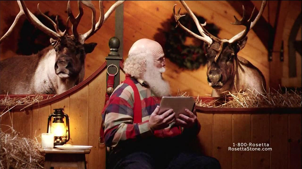 Rosetta Stone TV Spot, 'German-Speaking Santa' - Screenshot 9